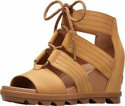 Women's Sorel JOANIE II LACE Sandals - Camel Brown *NEW* MS
