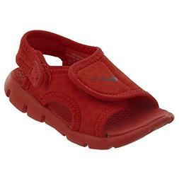NIKE 386519-603: Kids Sunray Adjust 4 Habanero Red/Gym Red T