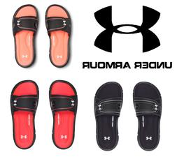 Under Armour Women's Ignite VIII Sandals Slides - NEW - FREE