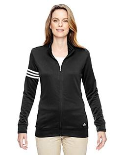adidas Womens climalite 3-Stripes Pullover A191 -BLACK/ WHIT