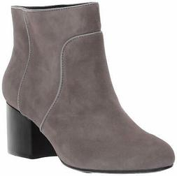 Aerosoles Women's Compatible Fashion Boot 5.5 Grey Suede
