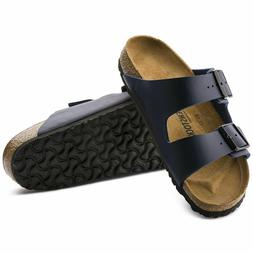 Birkenstock Arizona Birko-Flor Blue Sandals Size EU 39, US