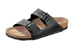 Birkenstock Women's Arizona  Birko-Flo Black Sandals - 41 M