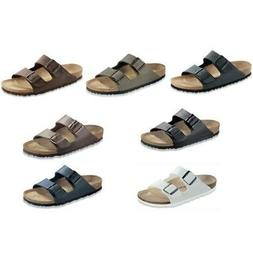 Birkenstock Arizona Sandals - narrow regular - blue brown bl