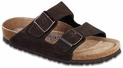 Birkenstock Arizona Mens Suede Slides