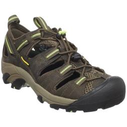 KEEN Women's Arroyo II Hiking Sandal,Chocolate Chip/Sap Gree