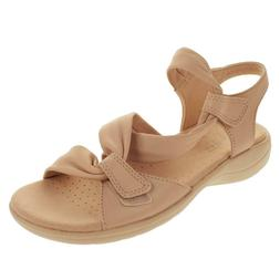 """""""AS IS"""" Clarks Saylie Moon Leather Sport Sandal  -6.5 Blush"""