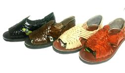 AUTHENTIC MEXICAN HUARACHE SANDALS. MEN'S LEATHER SANDALS. H
