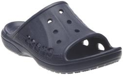 crocs Baya Kids Slide ,Navy,10 M US Toddler