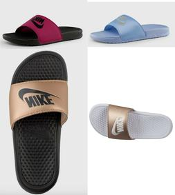 🔥 Nike Benassi JDI Slides Women's  sandals 7-10  Bronze,