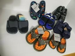 Boy's Sandals, Slip on, Flip Flop kid sizes beach pool or hi
