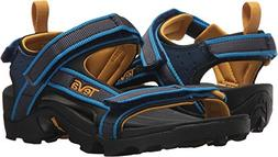 Teva Boys' Y Tanza Sport Sandal, Navy, 5 M US Big Kid