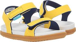 Native Kids Shoes Unisex Charley  Crayon Yellow/Shell White/