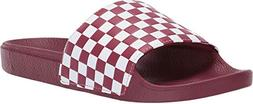 "Vans ""Checkerboard Slide-On Sandals  Slip On Slides Shoes"