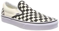 Vans Unisex Adult Classic Slip-on Checkerboard Trainers, Whi