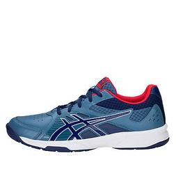 Asics Court Slide  Men Tennis Shoes Azure/Blue Print