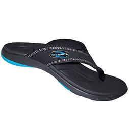 Stridetek Flipthotics Orthotic Sandals - Arch Support, Metat