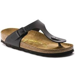 Birkenstock Gizeh Sandals- Black- Made in Germany - Size Eur