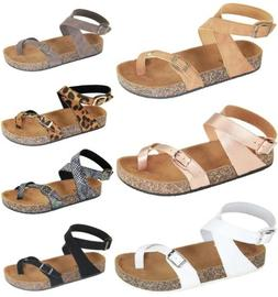 Glory-610 Women Sandals Shoes Gladiator Thong Flip Flops T S