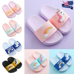 Infant Boys Girls Sliders Sandals Kid Casual Slip On Summer