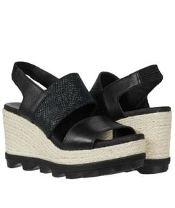 SOREL Joanie II Slingback Jute Wedge Sandals Women's Platfor