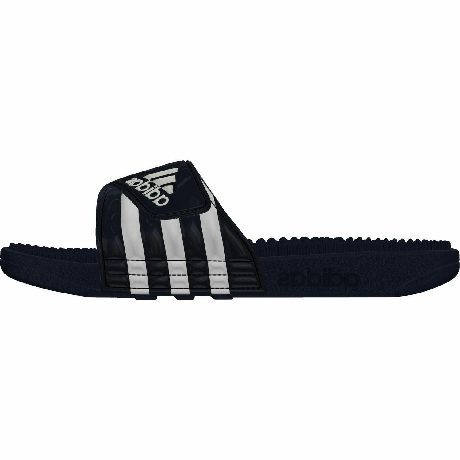 Adidas Adissage Beach Shoes Sandals Navy Size 18 54,5
