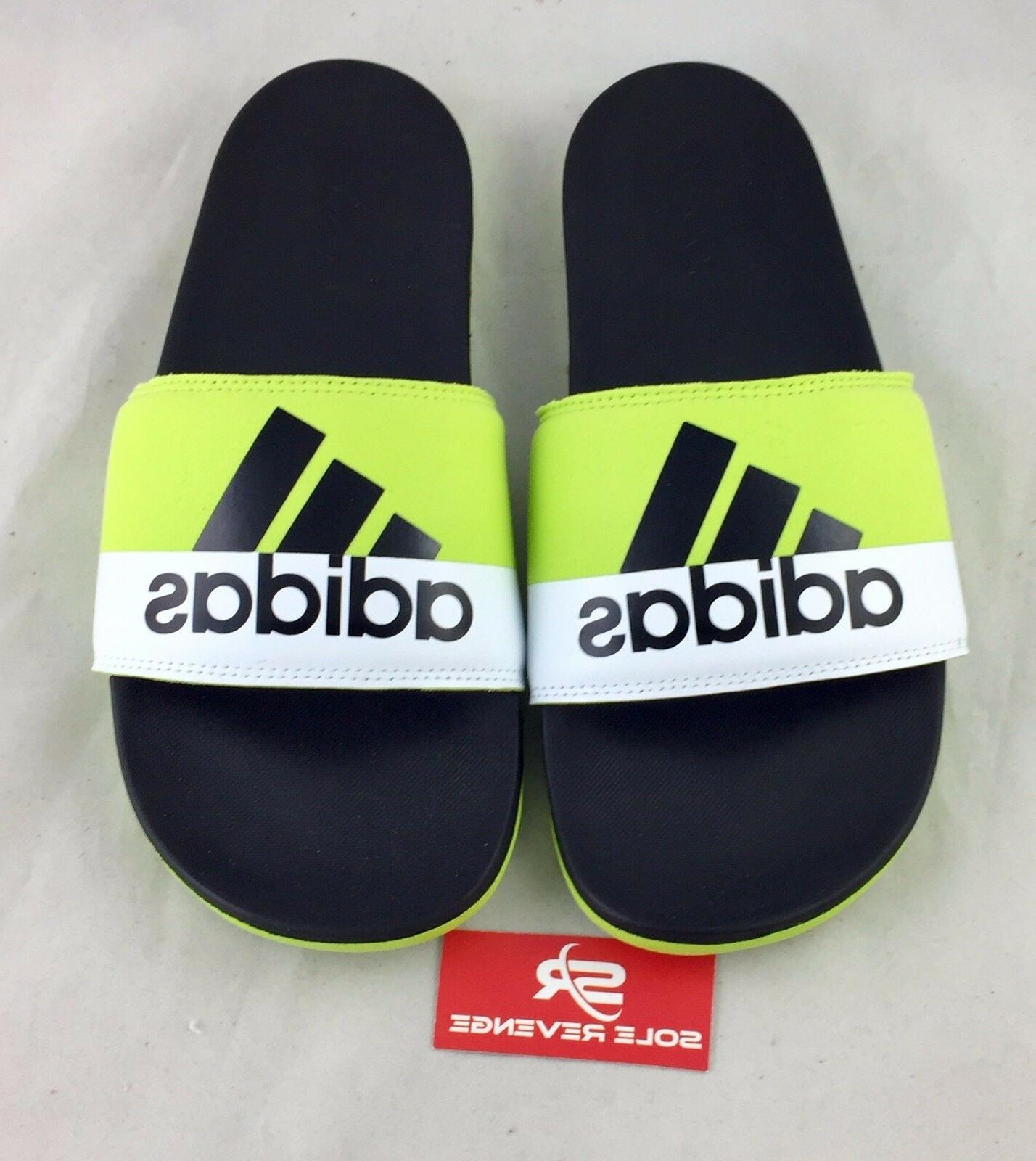 Adidas ADILETTE SC Supercloud Slides Sandals Green Black Fli