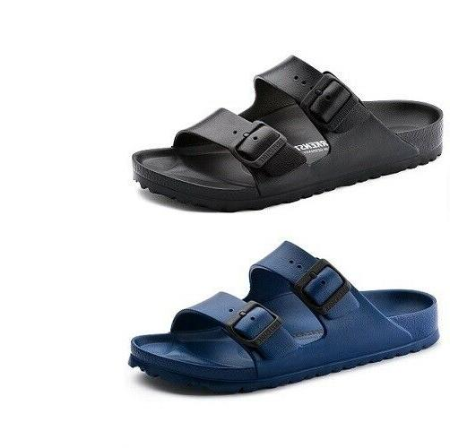 arizona eva double strap sandals slides unisex