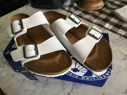 Birkenstock Arizona Size 41 WHITE