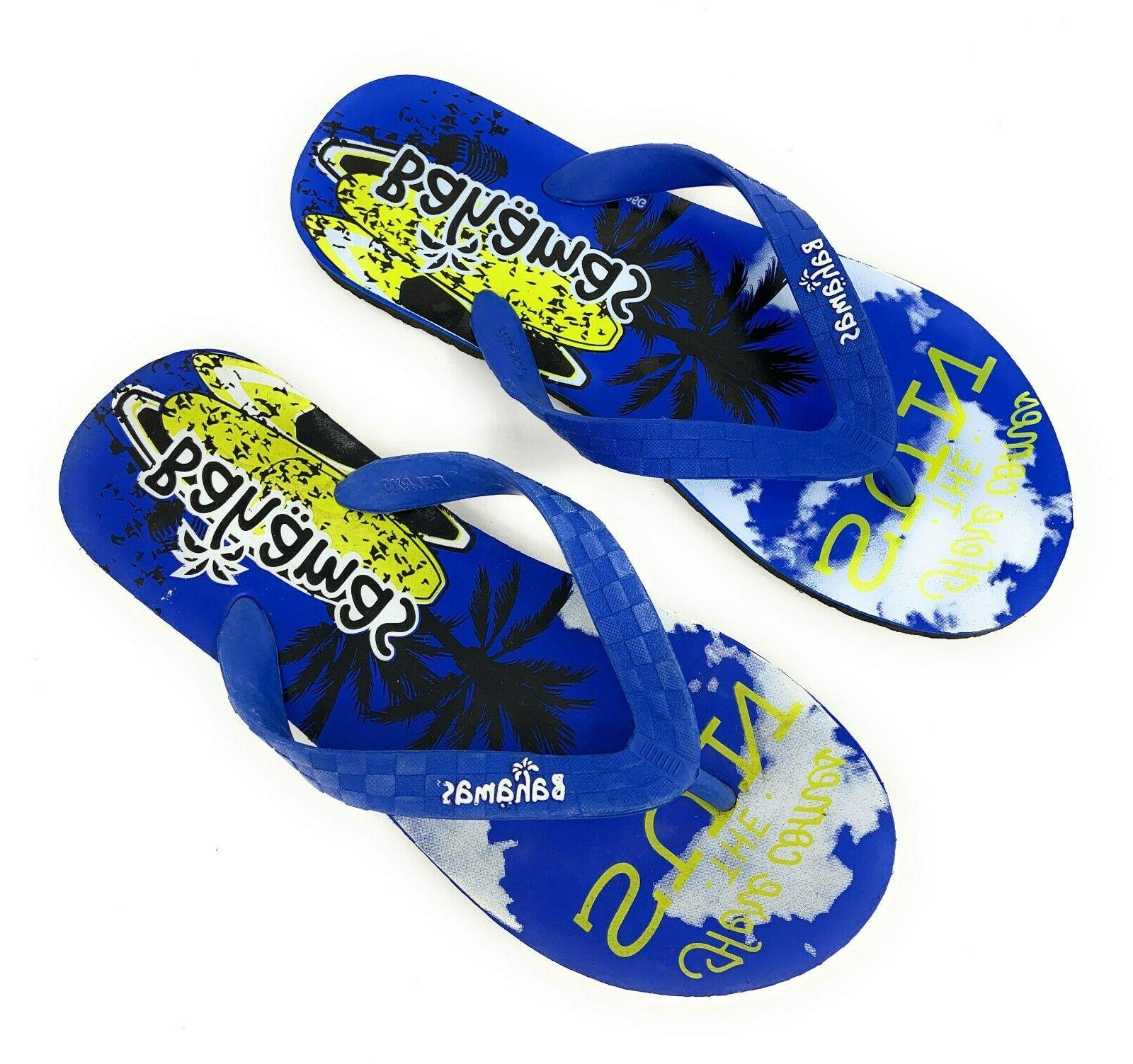 Bahamas Premium Thong Sandals Beach