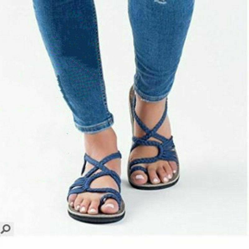 Bohemian Flat Bandages Shoes Casual