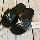 New Balance Boy's Adjustable Pro Slide Sandals Black