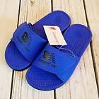 New Balance Boy's Adjustable Pro Slide Sandals Blue