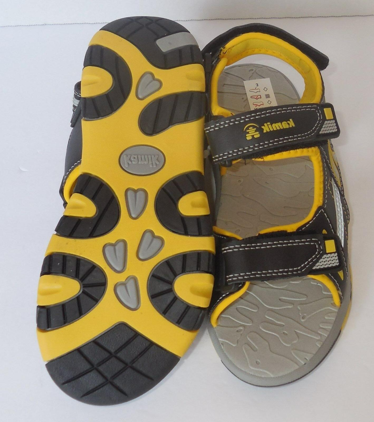 Youth Flounder Black Yellow Shoes