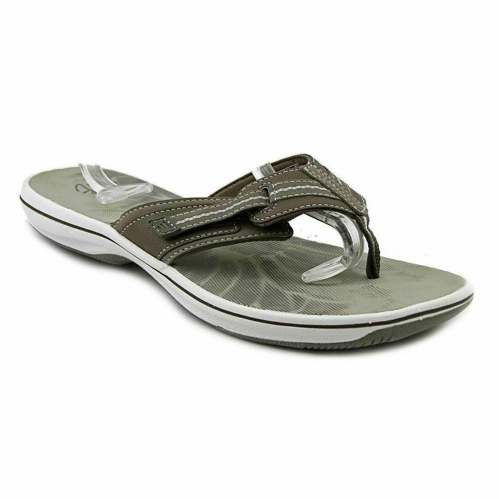 brinkley jazz thong flip flop sandal pewter