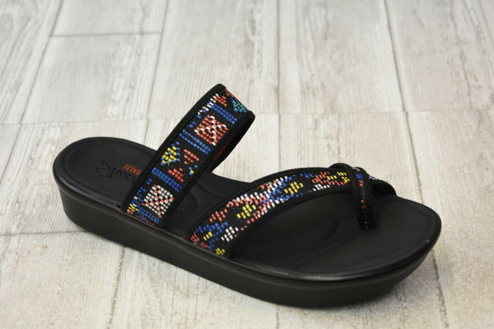 bumblers star struck woven sandals women s