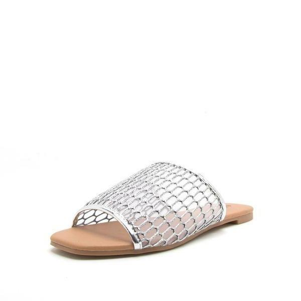 Fashion Silver Dress Sandals Delivery In About 4 Days USA On