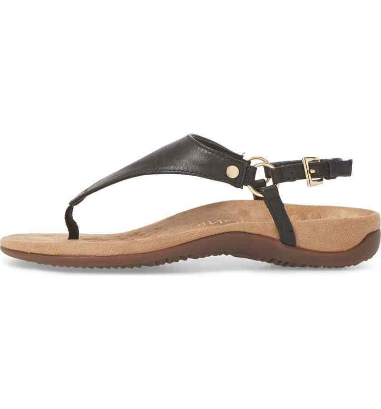 VIONIC Leather Ankle Sandals Size