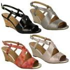 Ladies Van Dal Cross Strap Wedged Sandal Allora