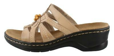 Clarks Lexi Myrtle Slide Sandal Leather Womens Comfort Sanda