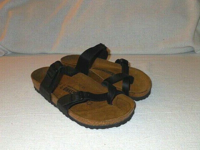 Birkenstock Black Birkoflor WOMENS Sandals EUR 37