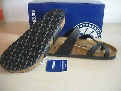 BIRKENSTOCK SANDALS BIRKO-FLOR BLACK -NEW- NARROW
