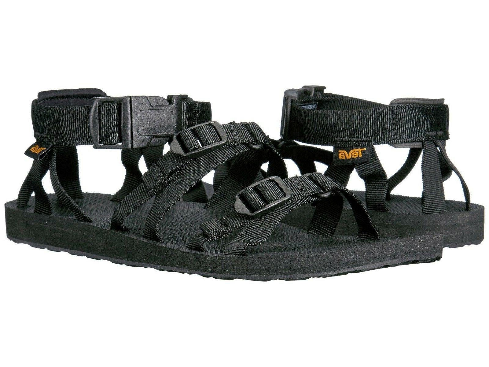 Teva Men's Alp 101584 - Sport Water Ready Sandals Black Size