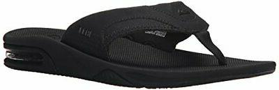 Reef Men's Fanning Flop Color BLACK