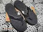 Men's New Balance Flip Flop Sandal SD801BK Black 100% Origin