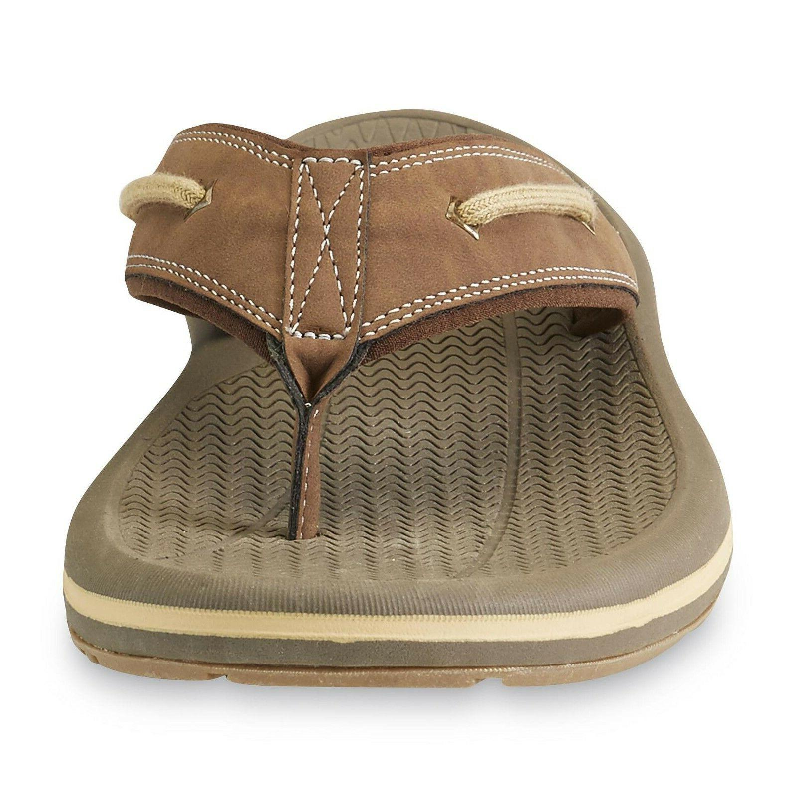 Thom Nautilus 2 Brown Flip-Flop sizes 8-11