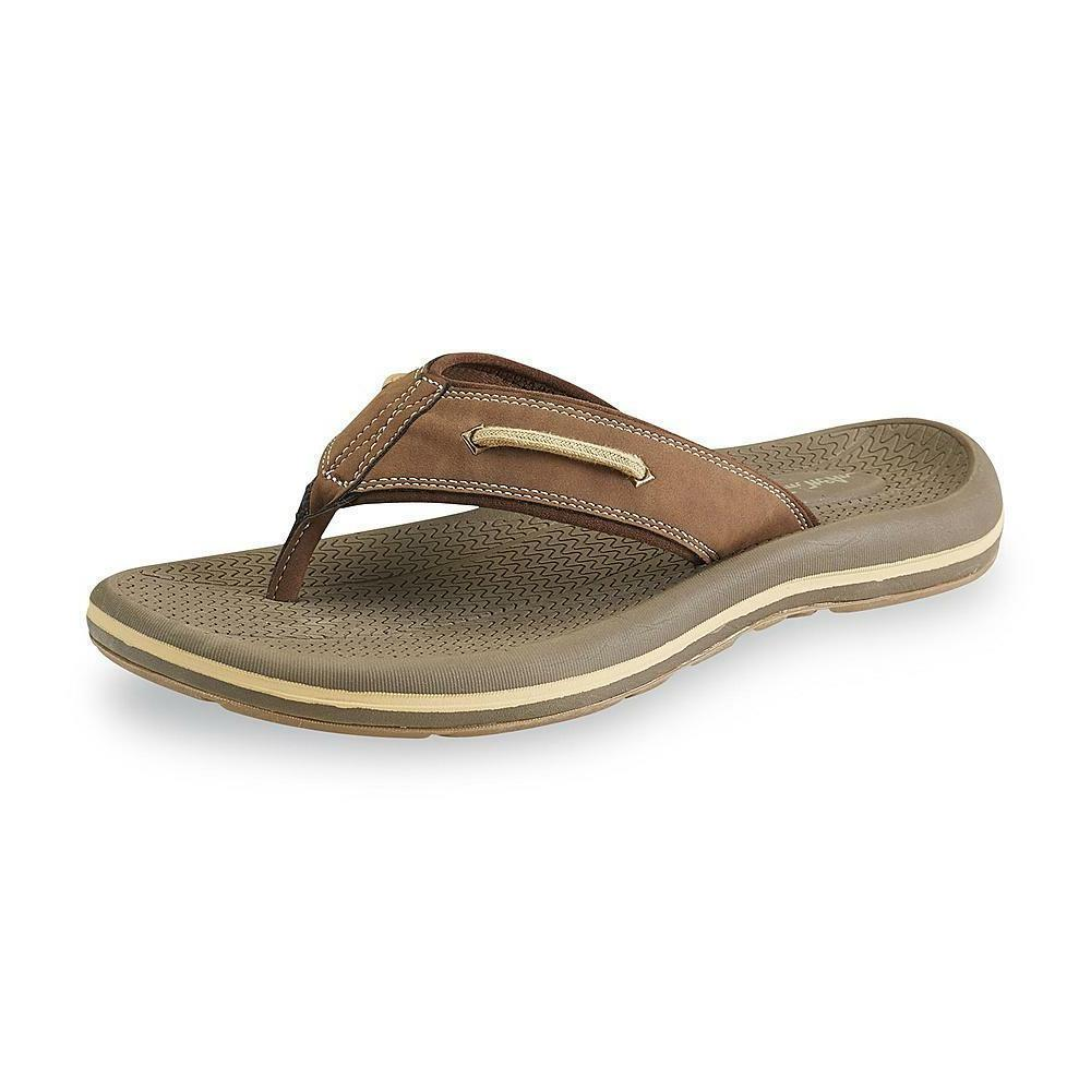 men s nautilus 2 brown flip flop