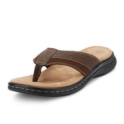 Dockers Mens Laguna Casual Comfort Outdoor Flip-Flop Thong S