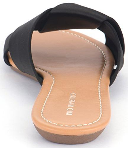 Mio Slide For Women, Lady Enclosed In A Box