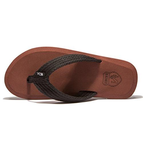 NewDenBer Men's Classical Light Weight III Flip-Flop US,